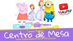 Como Fazer: Centro de Mesa para Festa Infantil - FNF Blog