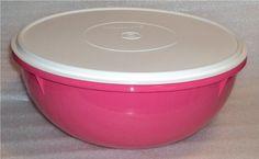 New Tupperware Fix N Mix Bowl 26 cups Fuchsia Pink