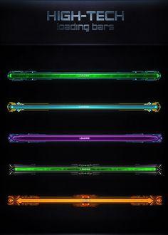High-Tech Loading Bars by VengeanceMK1 on DeviantArt