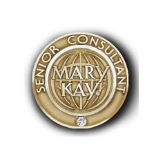 This is what my Mary Kay Senior Beauty Consultant Pin looks like!