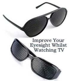 Improve Your Eyesight With These  www.robchiv.wix.com/pinholeglasses