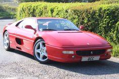 Used 1998 Rosso Red Ferrari F355 BERLINETTA F1 AUTO for sale on RAC Cars