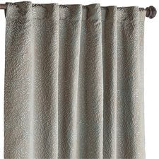 Stella Embossed Curtain - Taupe