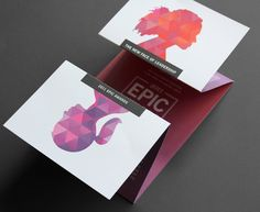 Perfect business card, stand out from the crown idea. This would aptly match the accordion fold out brochure