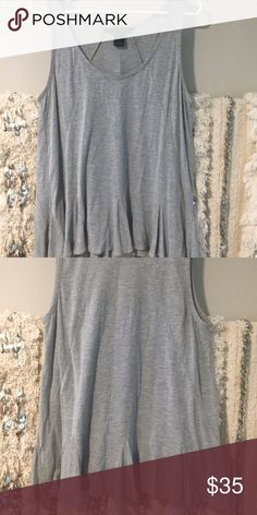 Marc by Marc Jacobs tank Marc by Marc Jacobs tank with soft and playful pleats  heathered grey size medium 100% viscose  like new condition, from a smoke free home Marc by Marc Jacobs Tops Tank Tops
