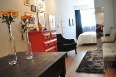 Apartamento pequeno e bem planejado (com ótimas ideias para epaços pequenos - e grandes também) - dcoracao.com - blog de decoração e tutorial diy
