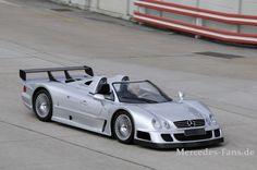 Unser Bilder-Blog zum 45-jährigen Jubiläum der Performance-Marke AMG - Mercedes AMG CLK GTR Roadster