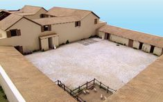 Romatre project - Roman villa, Auletta