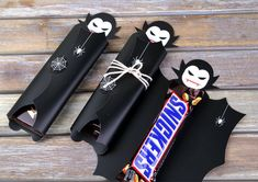 Dracula Vampire Candy Wrapper