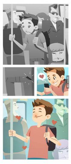 I love those moments