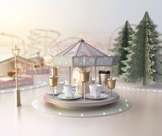 """Check out this @Behance project: """"Nespresso Holiday Joy"""" https://www.behance.net/gallery/45997793/Nespresso-Holiday-Joy"""