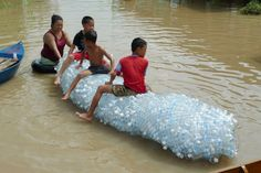 A PET bottle can change the world in some different ways ;) just making some kids playing  :)