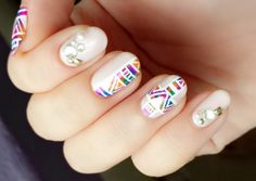 Simple & Easy Nail Art Designs Step By Step for Beginners