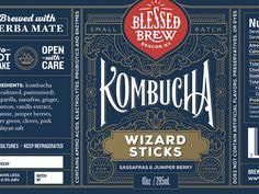 Blessed Brew label by Loren Klein