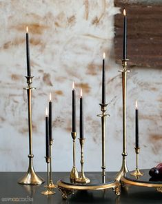 Make your centerpieces and candle displays something to admire with this gold and black marble Grandeur stand. The display stand it s wide x tall. Mini Candles, Gold Candles, Black Candles, Votive Candles, Gold Candle Holders, Candle Set, Vintage Candle Holders, Candlestick Holders, Strong Scented Candles