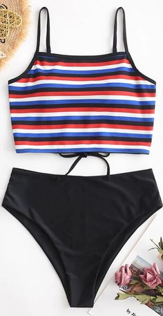Swimsuits For Tweens, Bathing Suits For Teens, Summer Bathing Suits, Cute Bathing Suits, Cute Swimsuits, Baby Bathing, Gold Swimsuit, Bikini Swimsuit, Striped Swimsuit