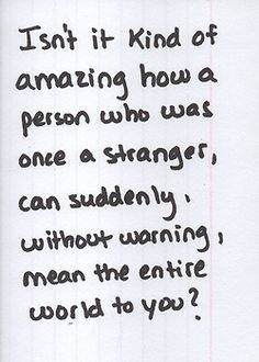A certain person comes to mind. :) <3