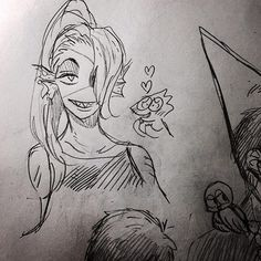 Undyne and Alphys | Artist 二毛毛 (Two Hairs)