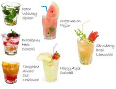 Spring and summer cocktail inspiration