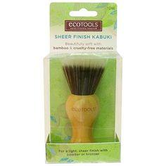 EcoTools Bamboo Finishing Kabuki Brush, 1246 - Walmart.com
