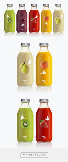 muy mio smoothie on Behance by espluga+associates curated by Packaging Diva PD. Packaging for the smoothie range of muy mio.