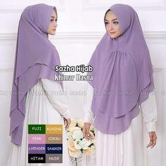 How To Wear Hijab, Flannel Nightgown, Moslem Fashion, Muslim Hijab, Hijab Dress, Embroidery Jewelry, Abaya Fashion, Neck Scarves, Night Gown