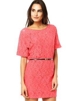 Vestido Pink Connection Essence Rosa - Compre Agora | Dafiti Brasil