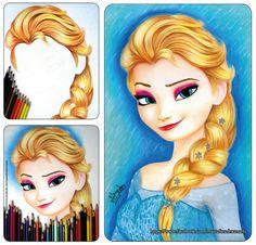 Facebook Color Pencil Sketch, Pencil Portrait Drawing, Disney Princess Colors, Princess Coloring, Disney Sketches, Cartoon Drawings, Colored Pencils, Disney Characters, Fictional Characters