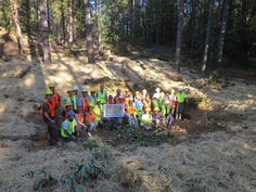RE-FROGGING AMERICA: Building wetlands for wildlife  In October 2014, SAVE THE FROGS! biologists along with members of the US Forest Service, US Fish & Wildlife Service, Bureau of Land Management, National Park Service, Trout Unlimited and the Center for Wetland & Stream Restoration built this and five other wetlands for California Red-Legged Frogs in the Eldorado National Forest!