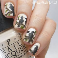 Will Paint Nails for Food: The Digit-al Dozen Does Fairytales, Day Four: The Seven Ravens by Brothers Grimm