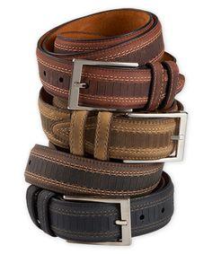Lejon Two-Tone Leather Belt