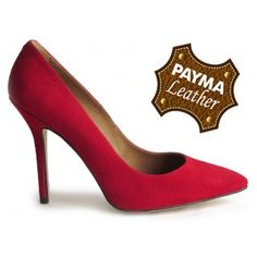 Stiletto ante rojo 49,90€  www.calzadospayma.com
