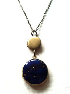 Taurus+Constellation+Astrology+Double+Locket+by+Locketfox+on+Etsy,+$38.20