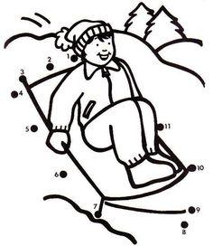 Actividades para niños preescolar, primaria e inicial. Fichas para niños para imprimir con dibujos para unir los puntos numerados para niños de preescolar y primaria. Unir puntos numerados. 50