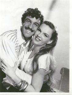 Gene Kelly & Judy Garland in The Pirate wearing Joseff Hollywood Jewelry