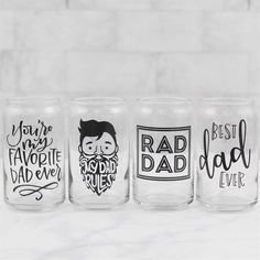 Fathers Day beer glass Dad Beer Glass Beer Can Glass Dad Gift Beer Gift Beer Lover Gift Fathers Day Gift Fathers Day gift from wife Diy Father's Day Gifts Easy, Diy Gifts For Dad, Great Father's Day Gifts, Father's Day Diy, Mom Gifts, Kids Gifts, Fathers Day Mugs, First Fathers Day Gifts, Fathers Day Presents