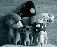 Mushroom softies by H-Luv Fabrications