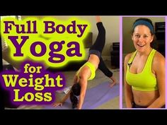 Weight Loss Yoga For Beginners - 10 Minute Yoga Routine For Fat Burning Workout - YouTube