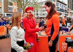 Dutch royal family celebrate King's Day 2018 in Groningen
