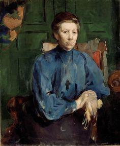 https://flic.kr/p/21r96dr   Harriet Backer - Fru Vedastine Aubert Moe [c.1910]   [Nasjonalmuseet, Oslo - Oil on canvas, 84 x 70 cm]