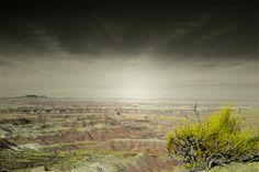 Painted Desert Photography Print 11x14 Fine Art Arizona Southwest Red Rock Wilderness Landscape Photography Print.. $45.00, via Etsy.