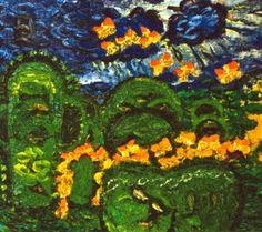 Ion Tuculescu Painting, Art, Literature, Art Background, Painting Art, Kunst, Paintings, Gcse Art