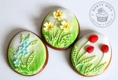 Easter Flower Cookies - Cake by Michaela Fajmanova