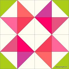 Block 2 in the Quilting Life 2017 free mystery block of the month program.