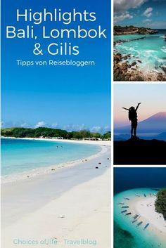 Deine Reise nach Bali und Lombok steht bevor und du hast noch keinen Plan? Zusammen mit anderen Reisebloggern haben wir unsere 6 Highlights der beiden Inseln zusammengestellt. Wir wünschen dir eine tolle Reise 😍
