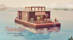 Navicula Houseboat  #sims #thesims #desims #thesims3 #desims3 #thesims3islandparadise #desims3exotischeiland #houseboat #woonboot #summer #zomer #sea #zee #snw #snwgames #simsnetwork #simsnetwerk  http://www.simsnetwork.com/downloads/the-sims-3/lots/navicula-houseboat