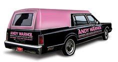Andy Warhol Hearse