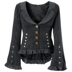 Steam Age Jacket - Women's Clothing & Symbolic Jewelry – Sexy, Fantasy, Romantic Fashions