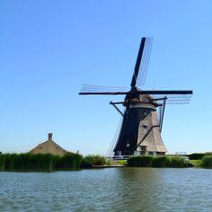 Dutch windmills @De Rotte, @Ommoord Rotterdam Rotterdam Rotterdam Rotterdam  The Netherlands).