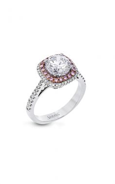 Simon G Passion Engagement ring product image Pink Diamond Jewelry, Passion, Fancy, Engagement Rings, Jewels, Image, Beautiful, Enagement Rings, Wedding Rings
